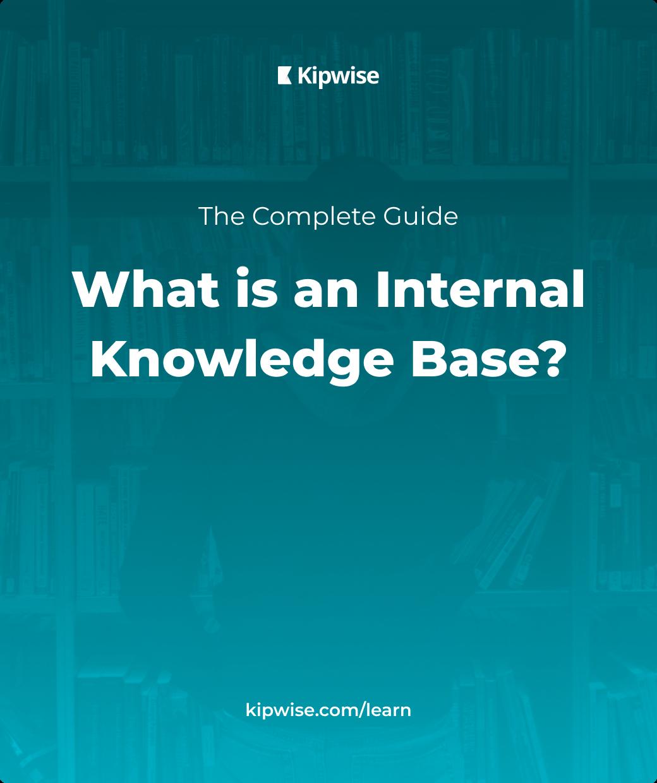 Internal Knowledge Base