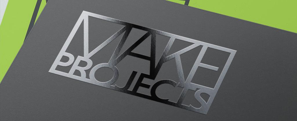 Logo design with spot varnish print