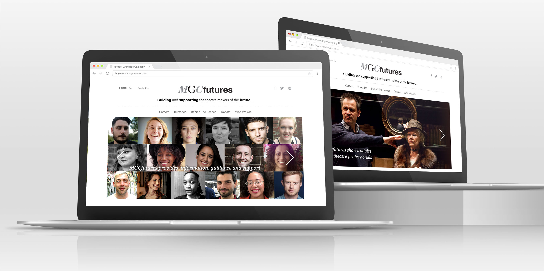MGCfutures website on various Apple Laptop
