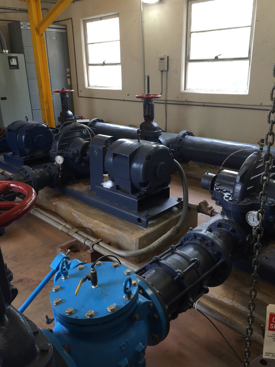 Upgrade Pump Station A42 Design Build