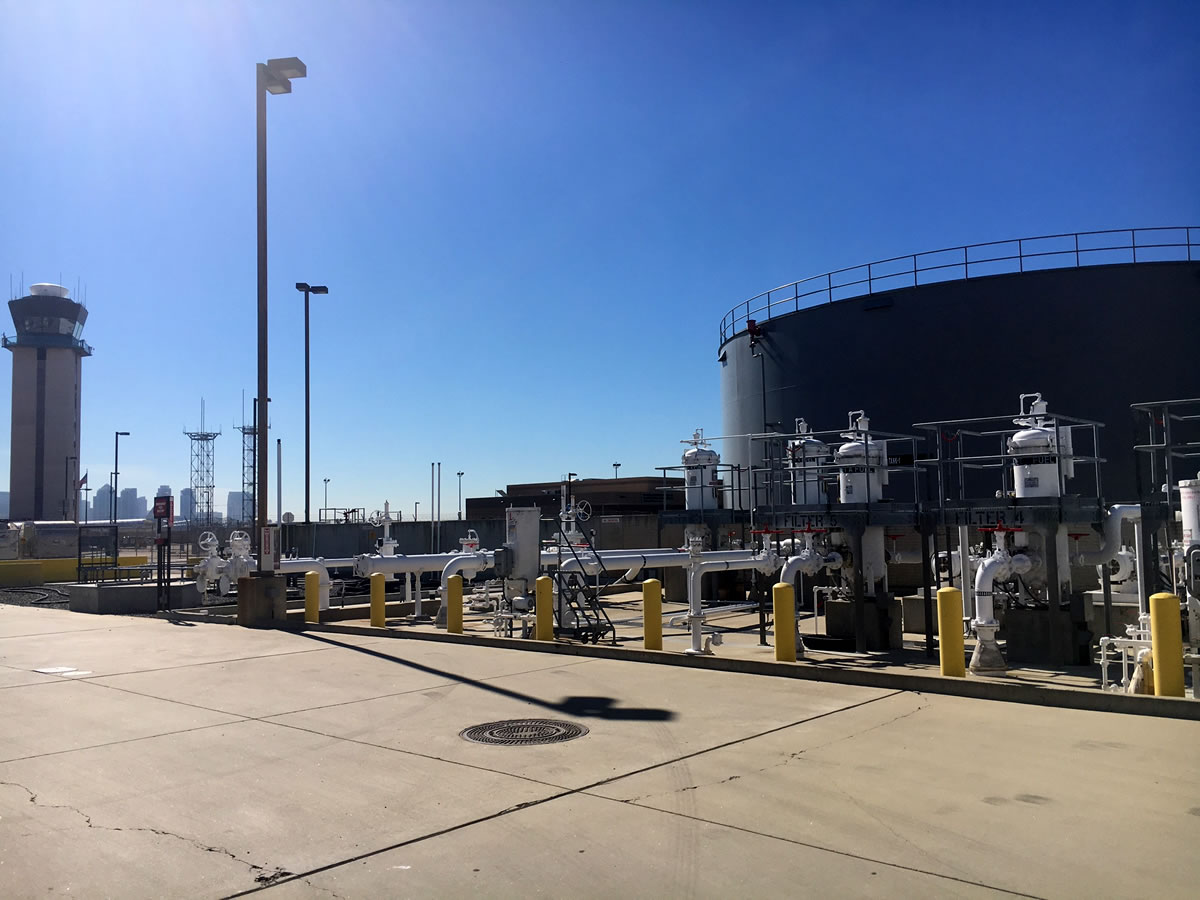 SAN Fuel Offload Island and System Upgrades