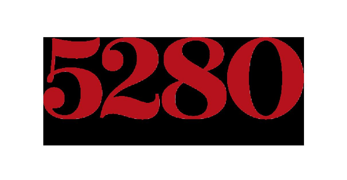5280 Magazine logo.