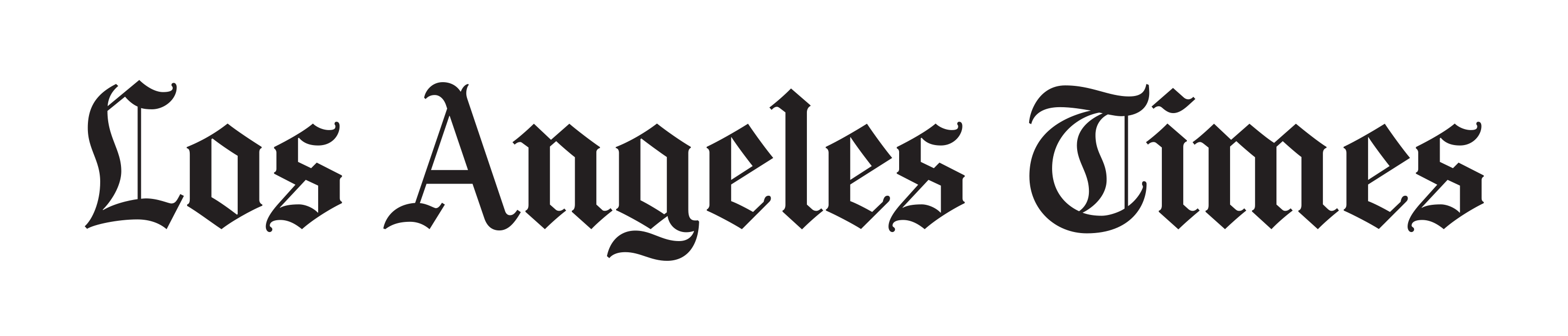 Los Angeles Times logo.