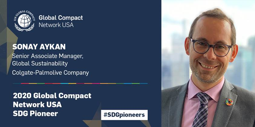 Global Compact Network USA Recognizes Sonay Aykan for Championing the Sustainable Development Goals