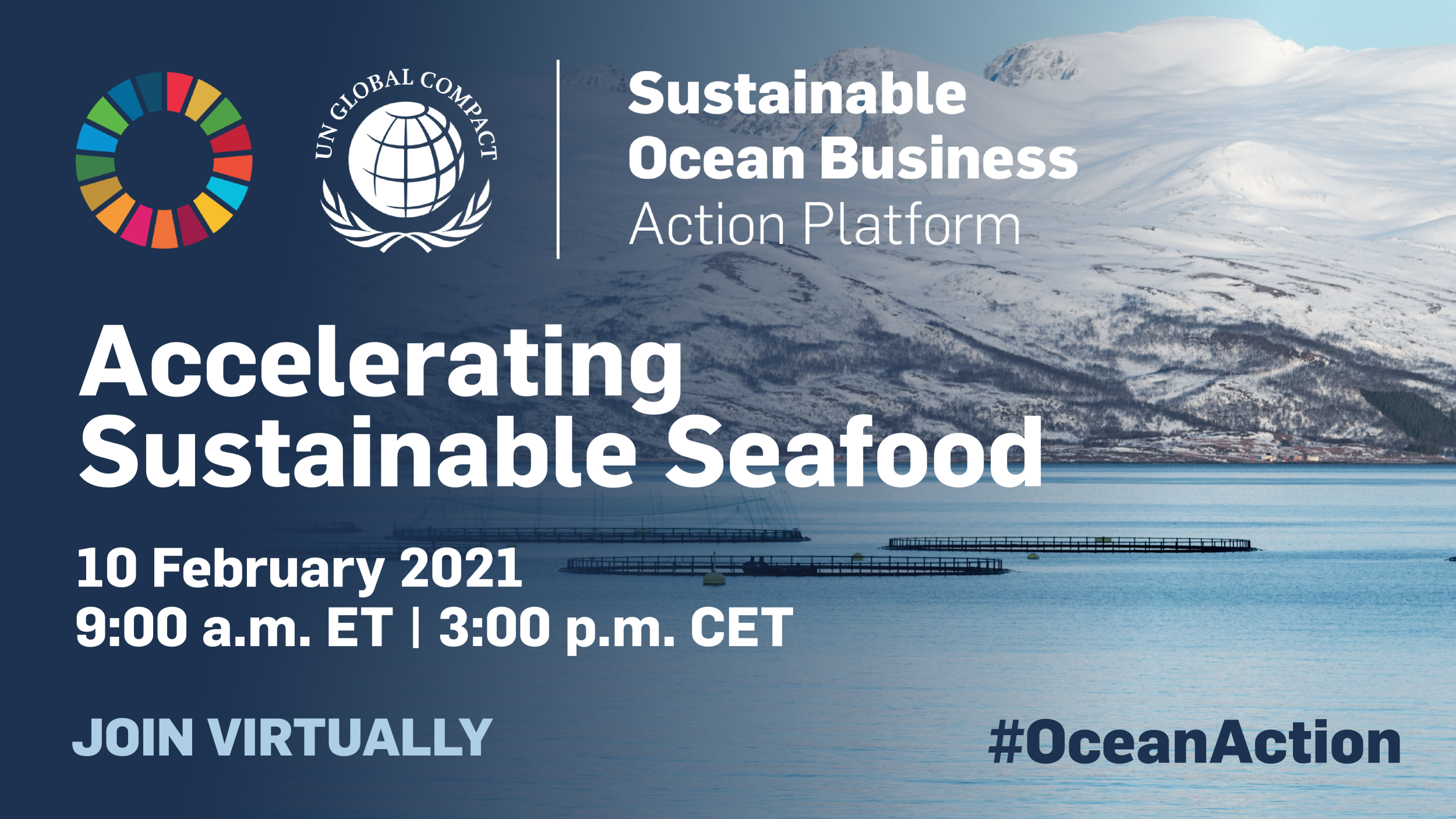 Accelerating Seafood Sustainability
