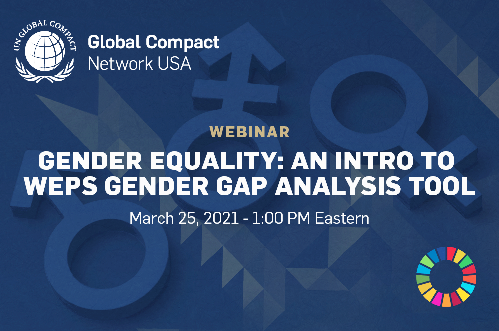 Gender Equality: An Introduction to the WEPs Gender Gap Analysis Tool and Network USA's New Target Gender Equality Program
