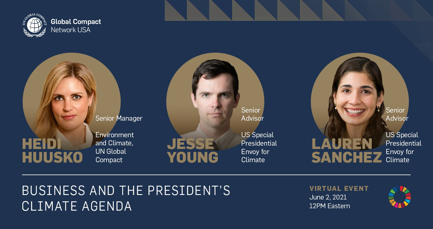 Upcoming Q&A with President Biden's Climate Envoy