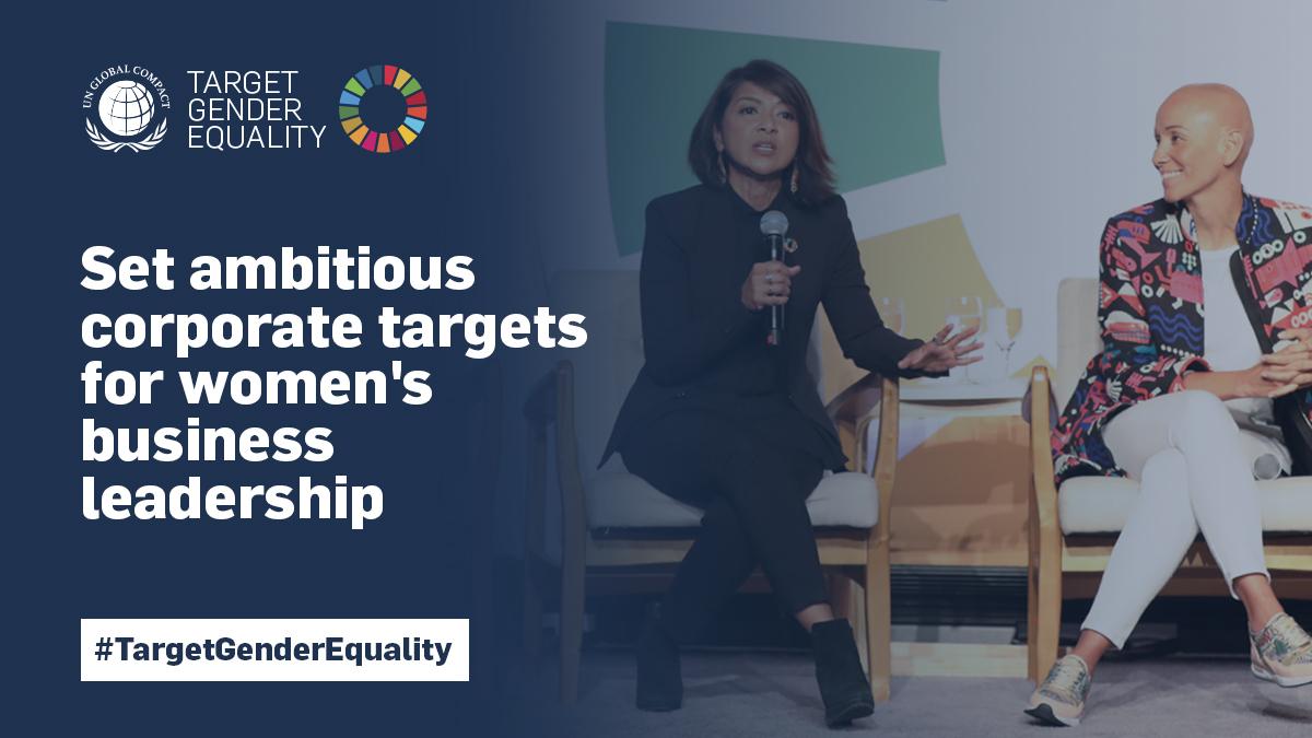 Welcome Our Target Gender Equality Cohort