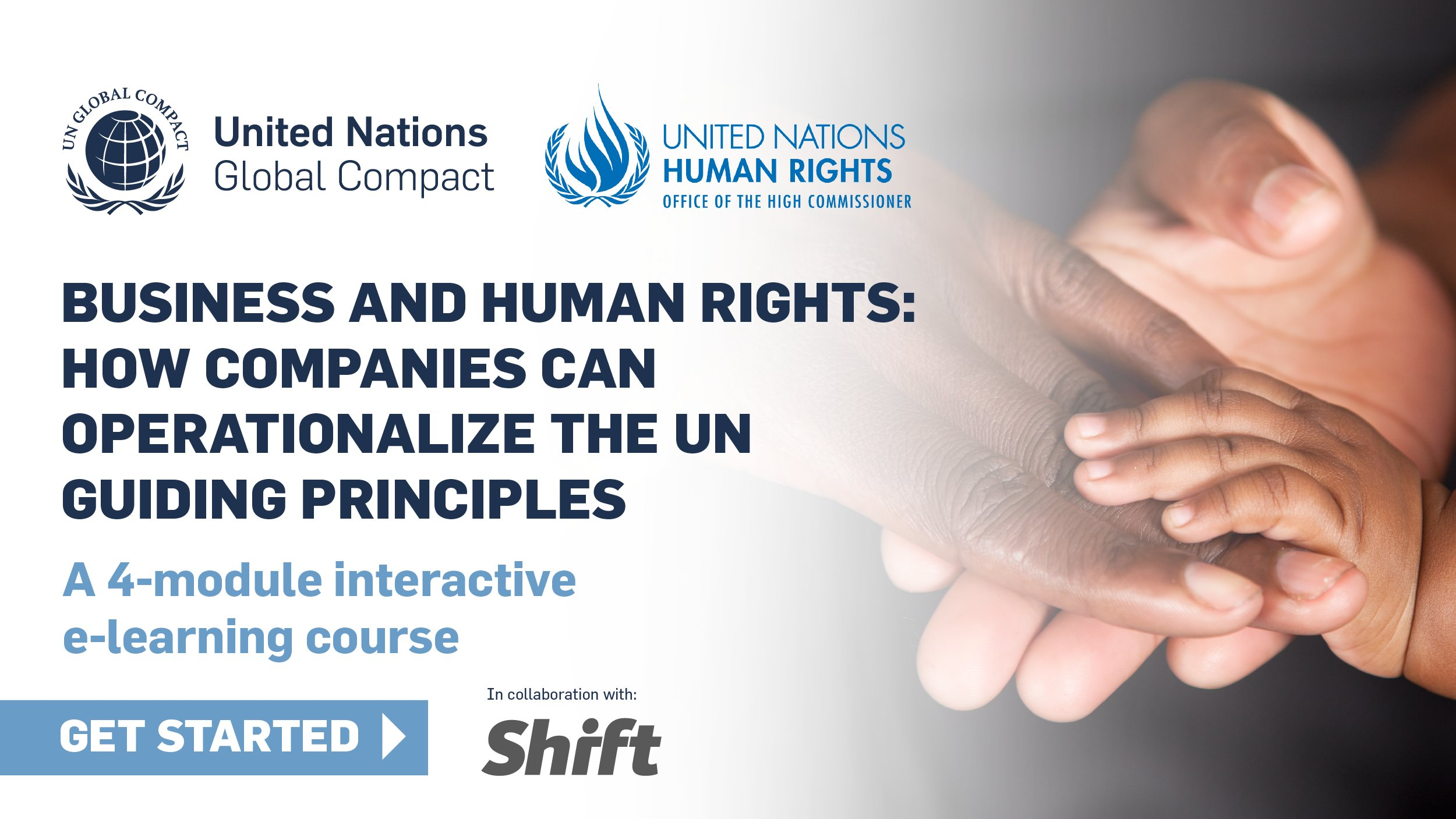 """Complete the New UN Global Compact Academy Course """"Business and Human Rights: How Companies Can Operationalize the UN Guiding Principles"""""""