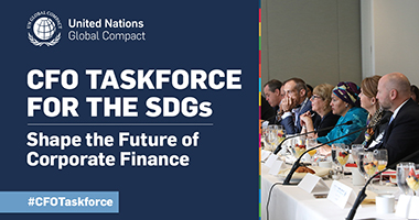 Leading CFOs launch global SDG initiative with United Nations Global Compact
