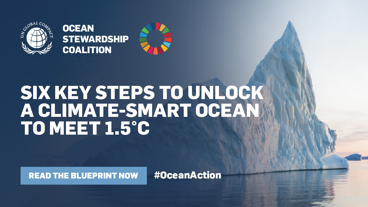 Vital Role of Ocean in Upcoming COP 26 Highlighted by World Leaders as UN Global Compact Launches Ocean Stewardship Coalition