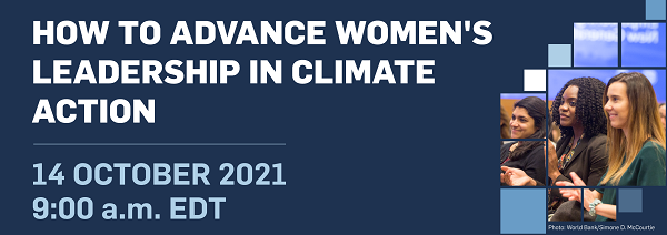 How to Advance Women's Leadership in Climate Action