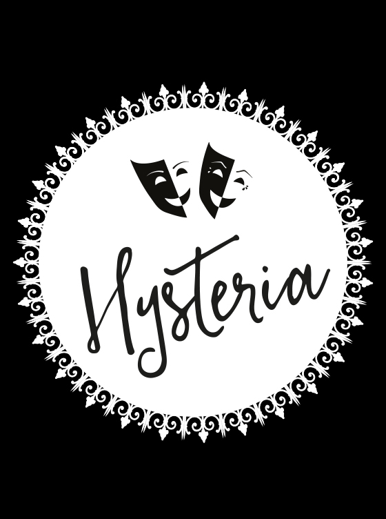 Design Marianne logosuunnittelu Hysteria
