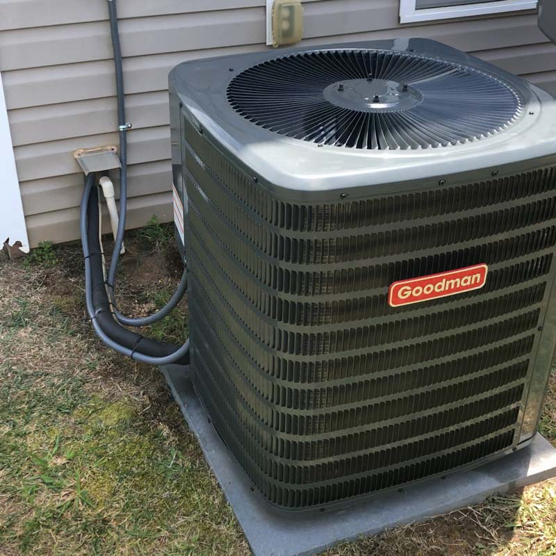 AC replacement in Charlotte, NC