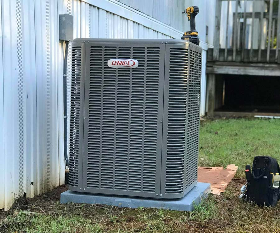 Home AC project in Charlotte, NC