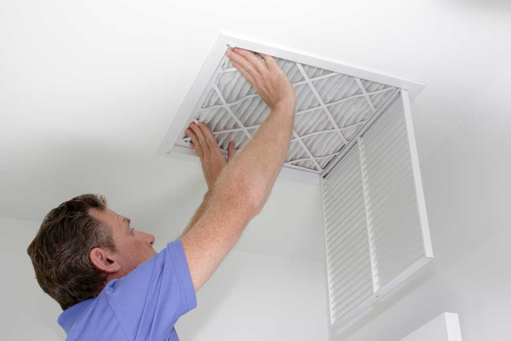 Indoor air quality installation