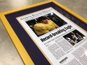 Printing a newspaper article