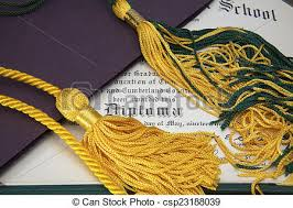 Framing your tassel with your diploma