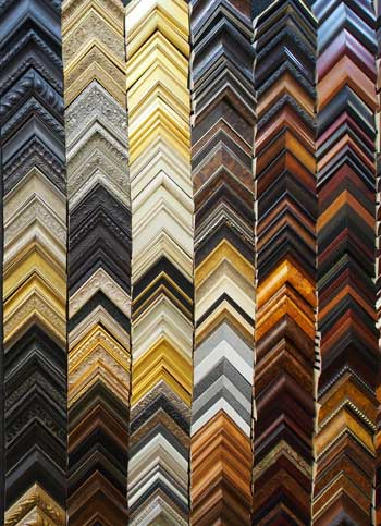 Choosing a Frame - Athens Art and Frame