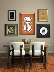Incorporating color into you custom framing designs