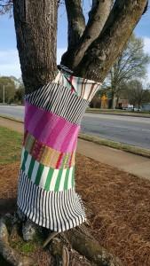 Yarn Bombing Athens GA