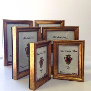 Our photo frames are all handmade in the United States and come in a wide variety of sizes and finishes.