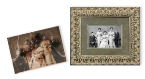 Damaged and faded photos are repaired digitally and made to look brand new.