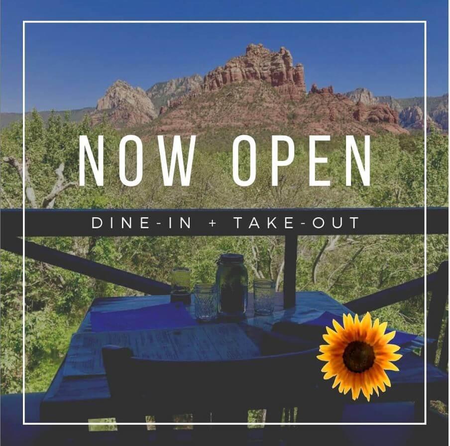 open restaurants sedona during covid