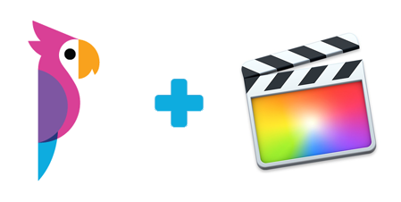 Export transcripts to Final Cut Pro X ranges from the Simon Says FCPX extension