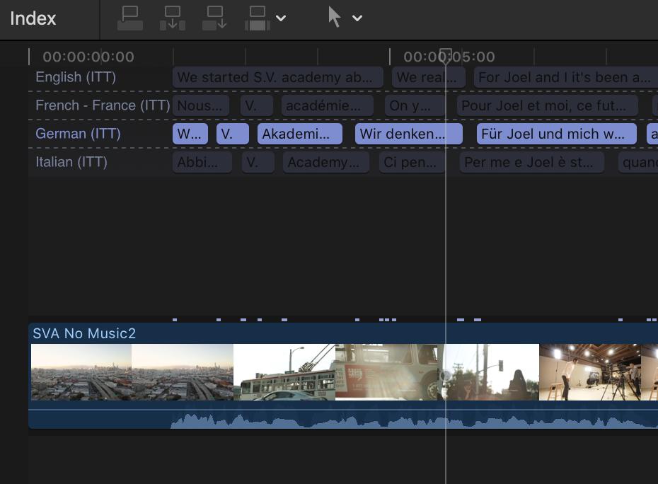 How to subtitle/caption your Final Cut Pro X (FCPX) project