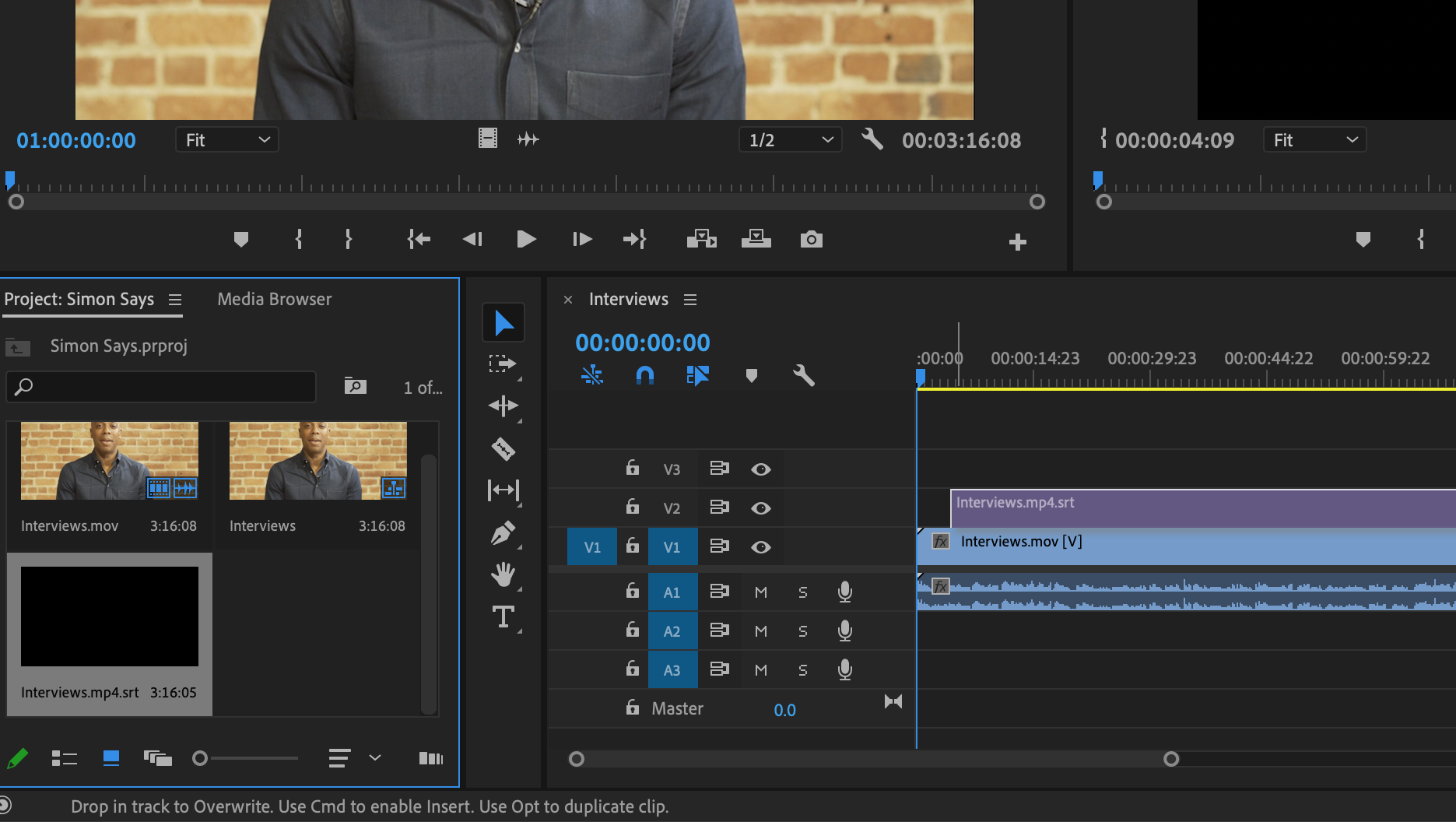 How to subtitle/caption your Adobe Premiere Pro timeline/sequence