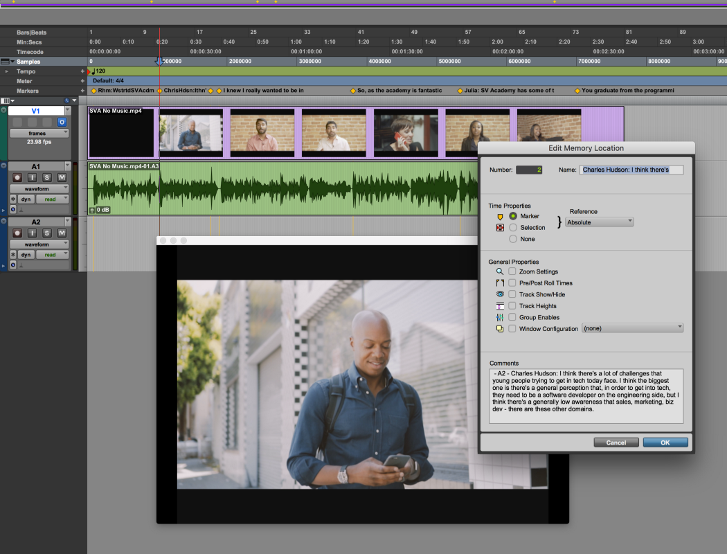 How to transcribe in Avid Pro Tools with A.I.