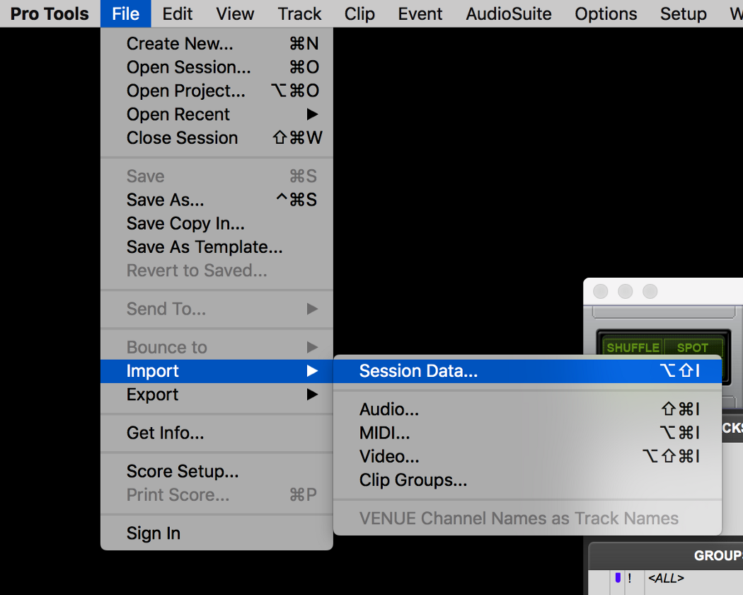How to translate in Avid Pro Tools with A.I.