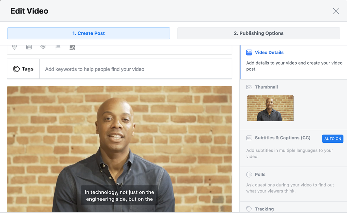 How to subtitle/caption videos for Facebook