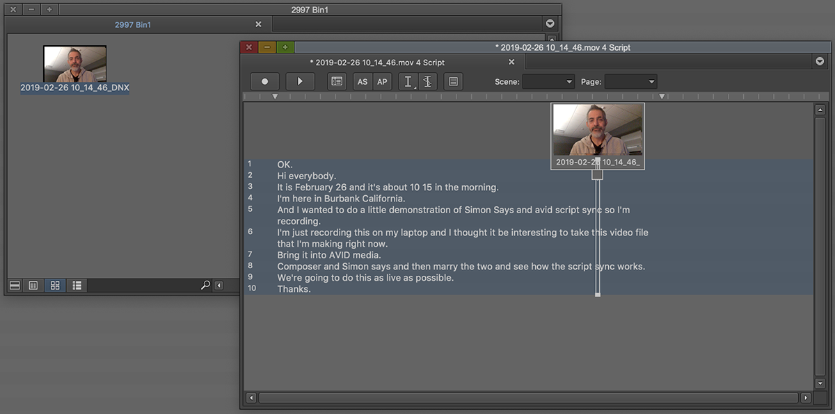How to transcribe and generate ScriptSync files for Avid Media Composer