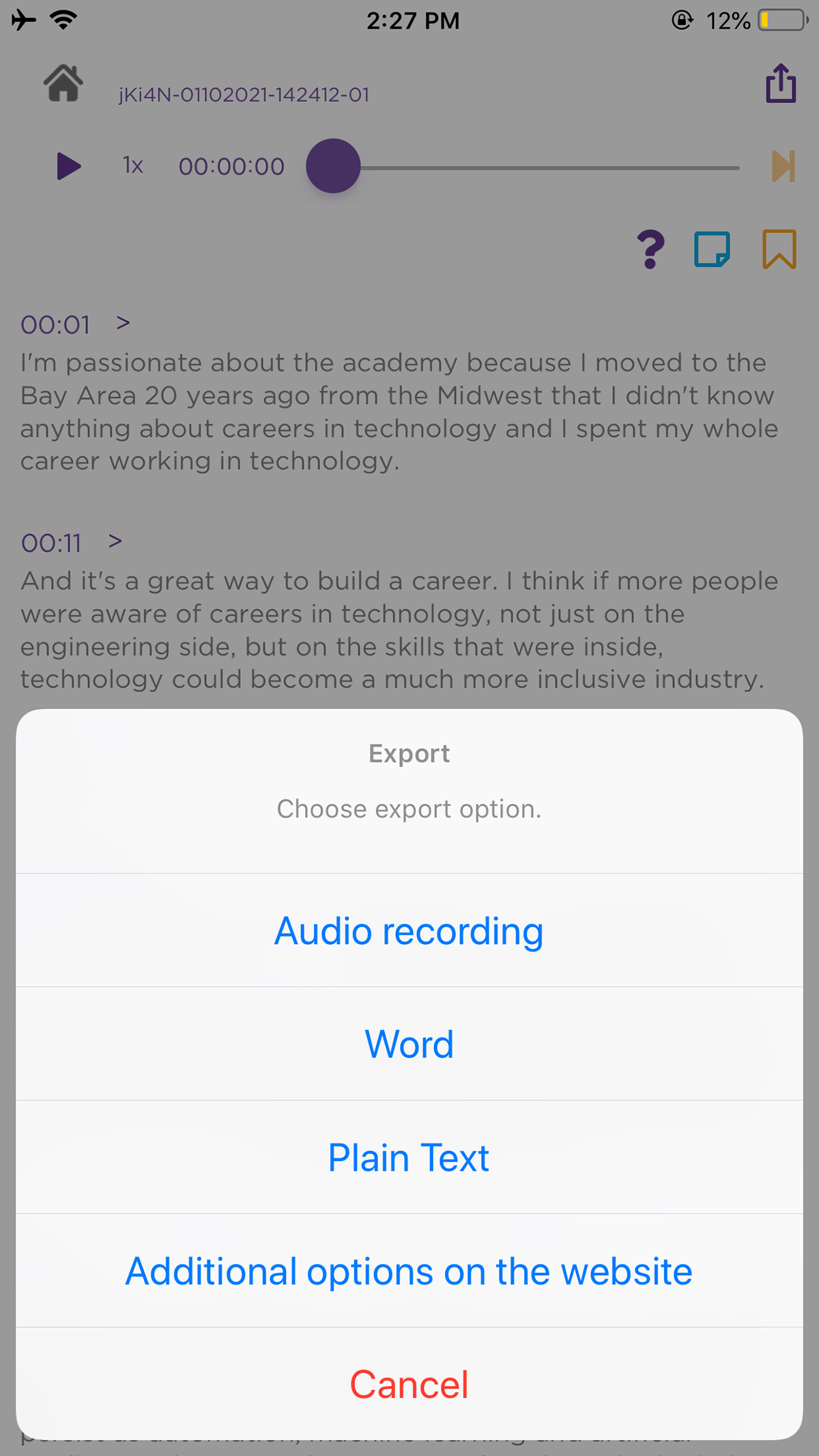 How to transcribe meetings and interviews with your iPhone