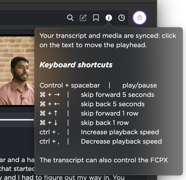 Simon Says keyboard shortcuts