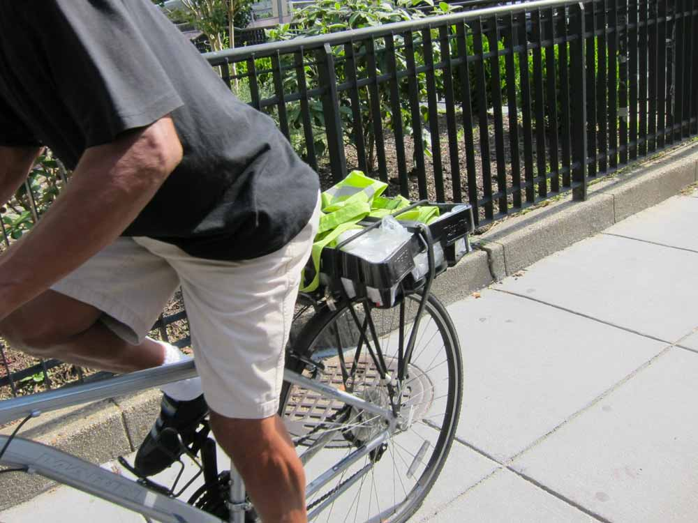 Bicycle Crashes on Sidewalks with Motorists