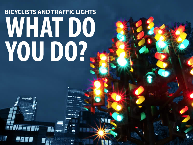 Defective Traffic Lights - Tips and Laws for Bicycles