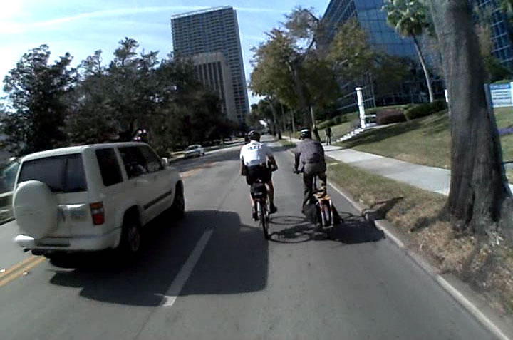 Is it Legal to Ride Bicycles Side-by-Side?