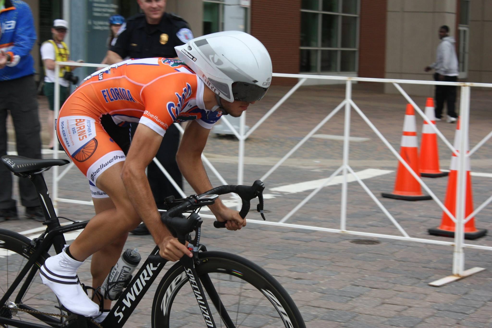 Chris Burns Sponsors University of Florida Cycling Team