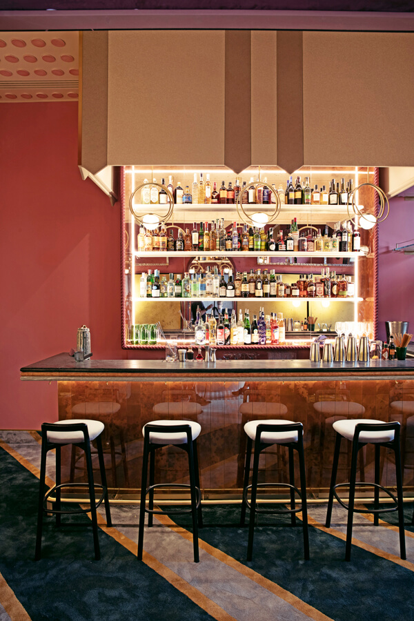 cocktail bar il palazzo experimental hotel venice