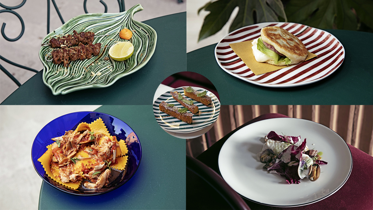 dishes restaurant il palazzo experimental hotel venice