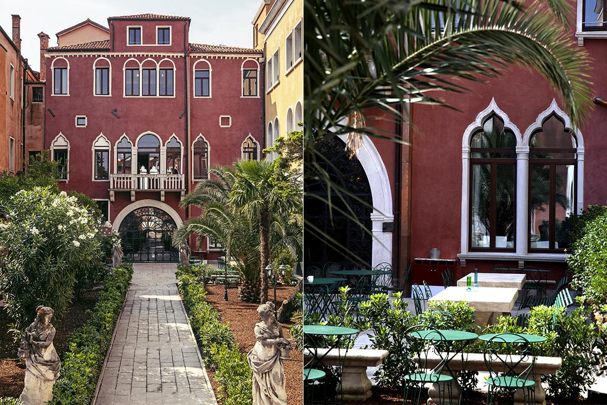 il palazzo experimental hotel venice garden 2