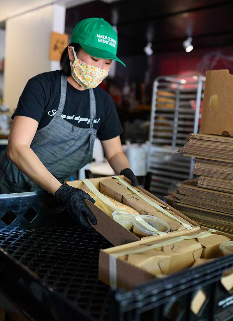 Binchoyaki Meals