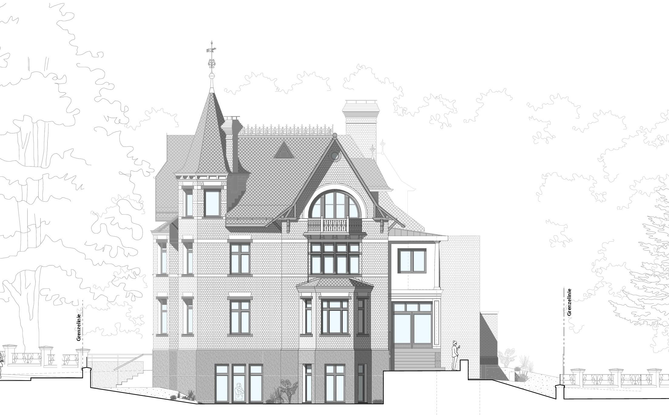 Sanierung historische Villa