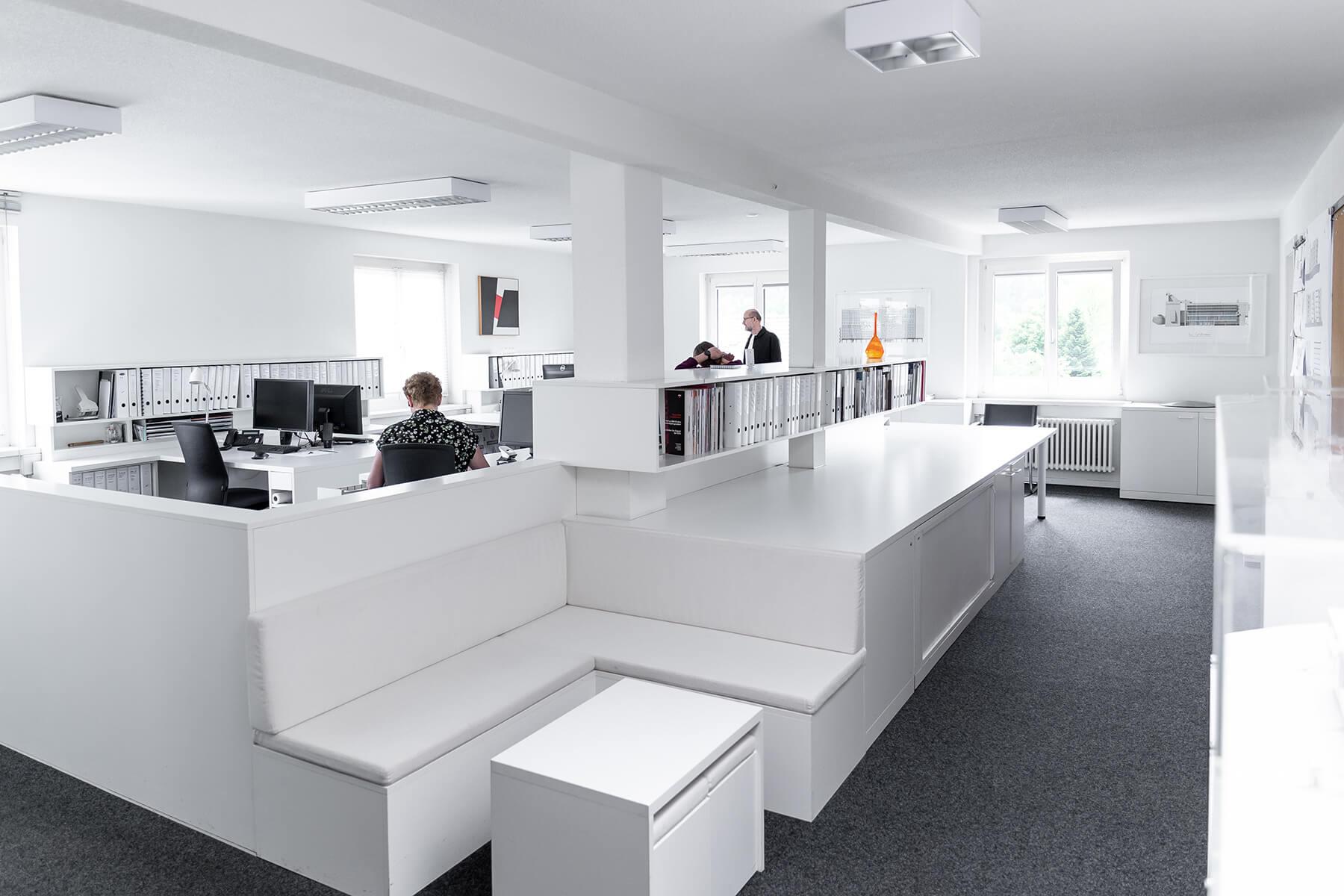 Eingangsbereich vom Architekturbüro Lüscher-Lüscher Architekten