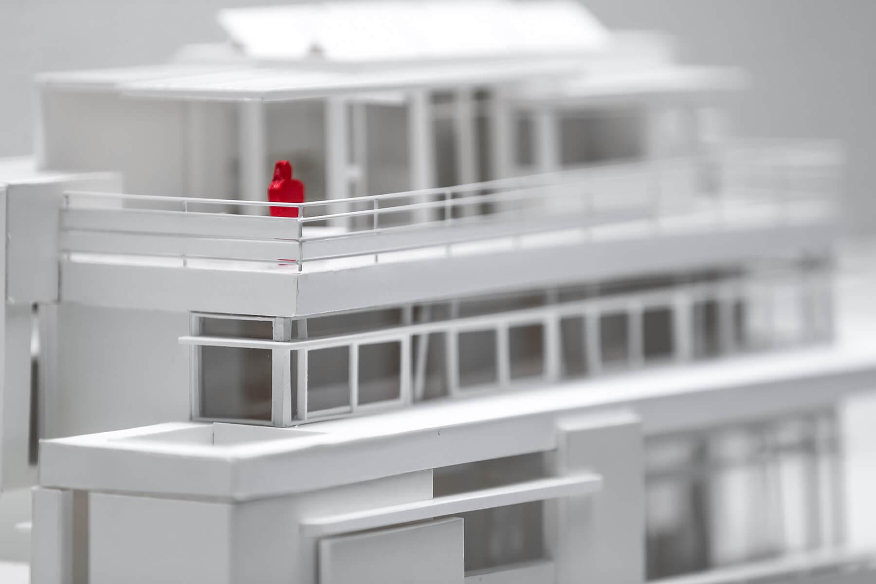 Ein physisches Modell des Haus Trottenweg