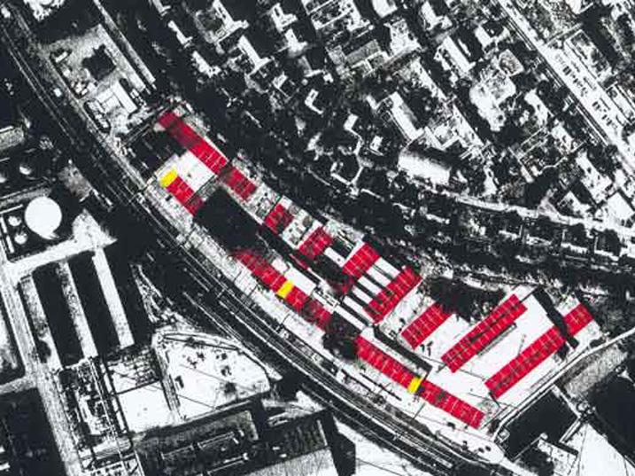 Wettbewerb-Wohnüberbauung