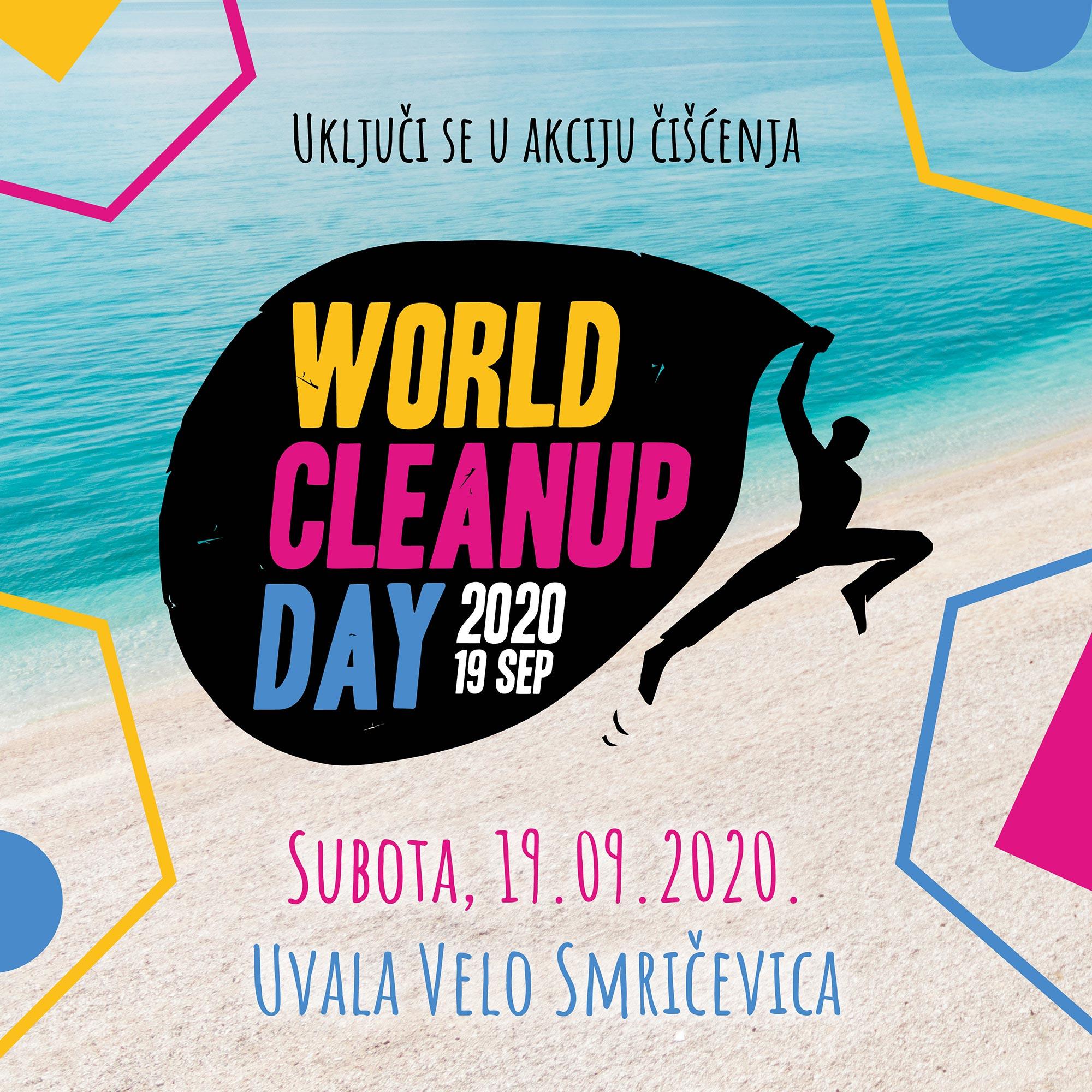 WORLD CLEAN UP DAY 2000 -UKLJUČITE SE